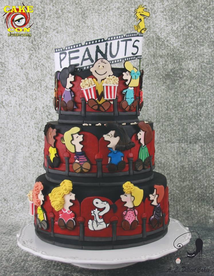 peanuts cake 1